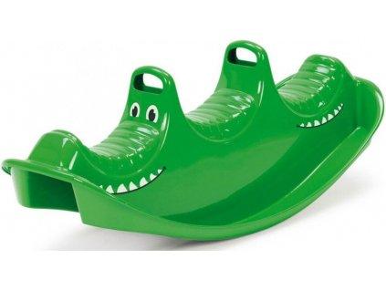 Houpačka plastová - krokodýl