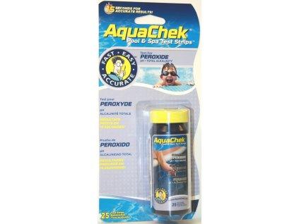 Pásky testovací AquaChek Peroxide 3v1 (25ks)