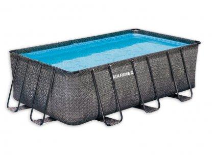 Bazén Florida Premium 2,15x4,00x1,22 m RATAN bez příslušenství
