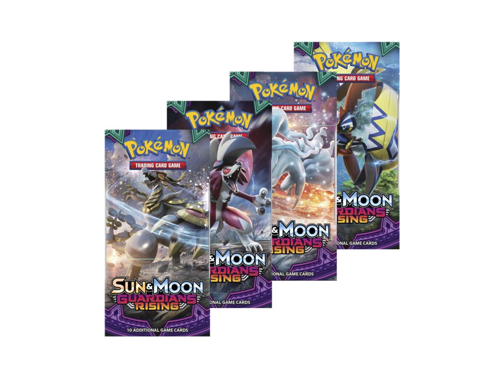 Pokemon Sun and Moon Guardians Rising Boosters