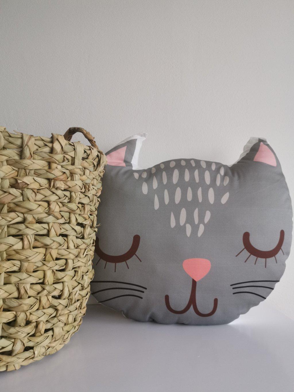 Polštářek kočka MÍNA
