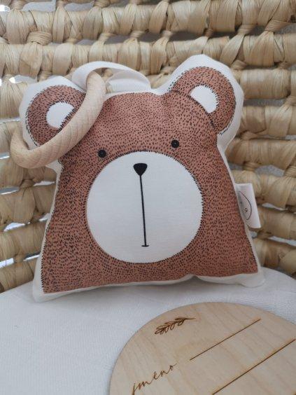 Kousátko medvěd HONZÍK
