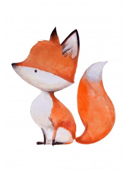 Plakát bystrá liška