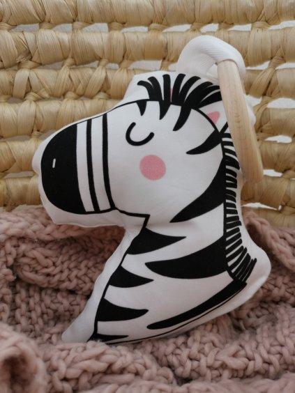 Kousátko zebra JŮLIE