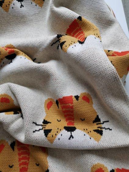 Fabliek deka tygřík
