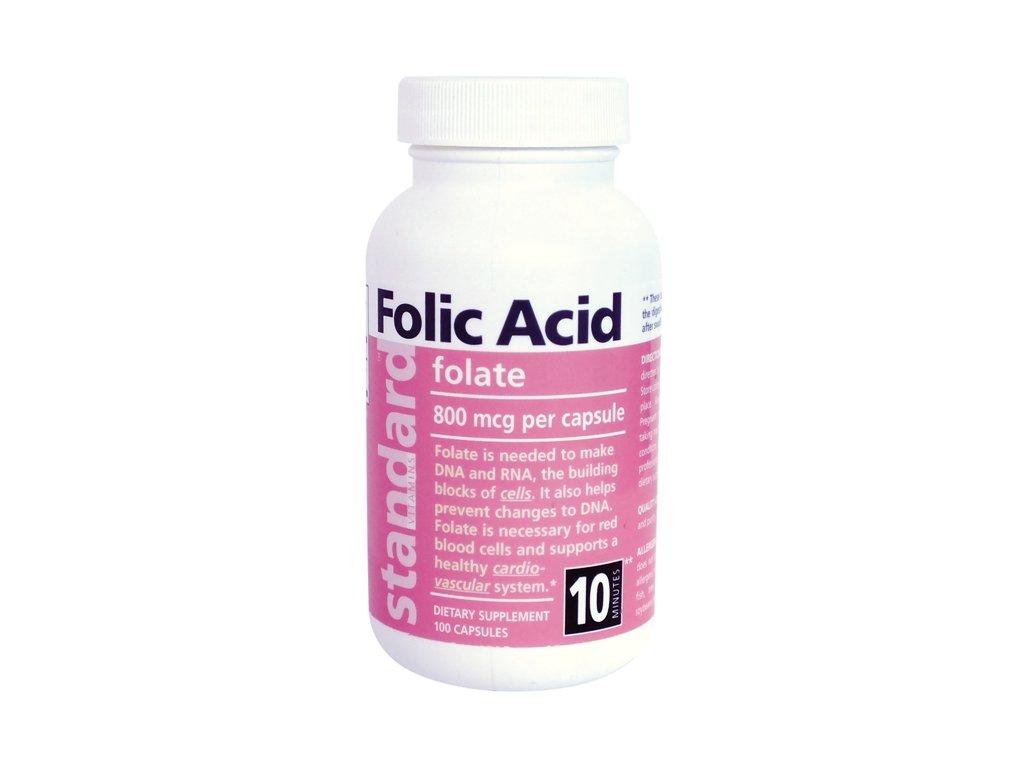 105 vitamin b9 800 mcg kyselina listova 100 kapsul