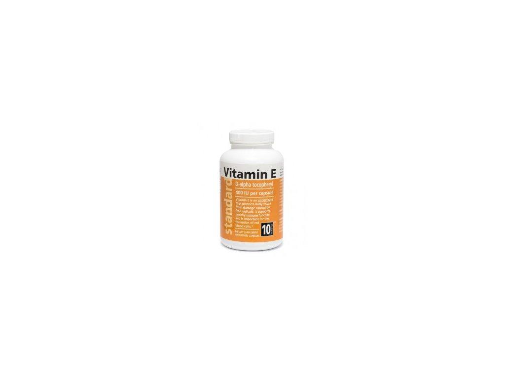 Vitamín E prírodný 400 kapsúl
