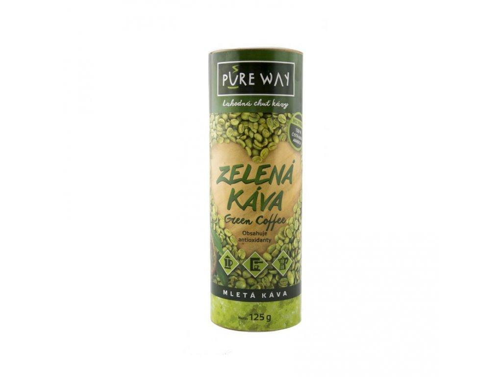 Pureway Zelena kava 125 MIX valec