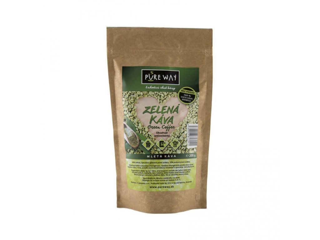 Pureway Zelena kava 200g MIX