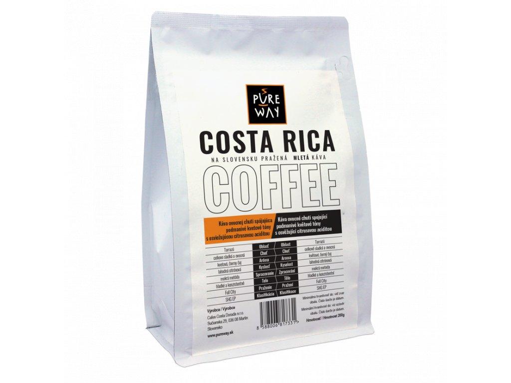 Pureway Costa Rica 200g mleta