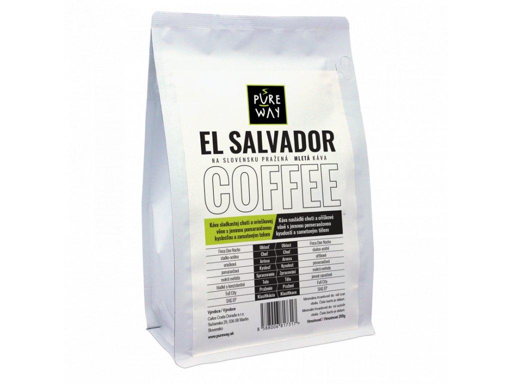 Pureway El Salvador 200g mletá