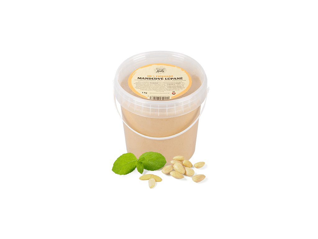 Mandľová pasta z lúpaných mandlí 1 kg SK