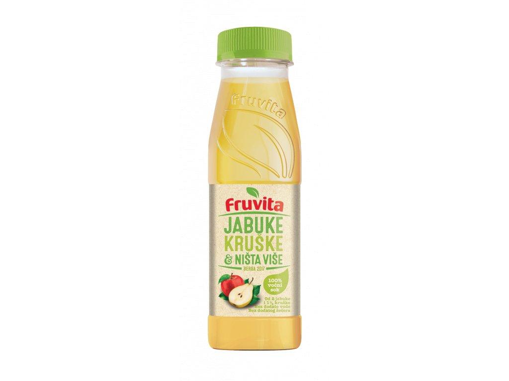 Fruvita hruška jablko 330 ml