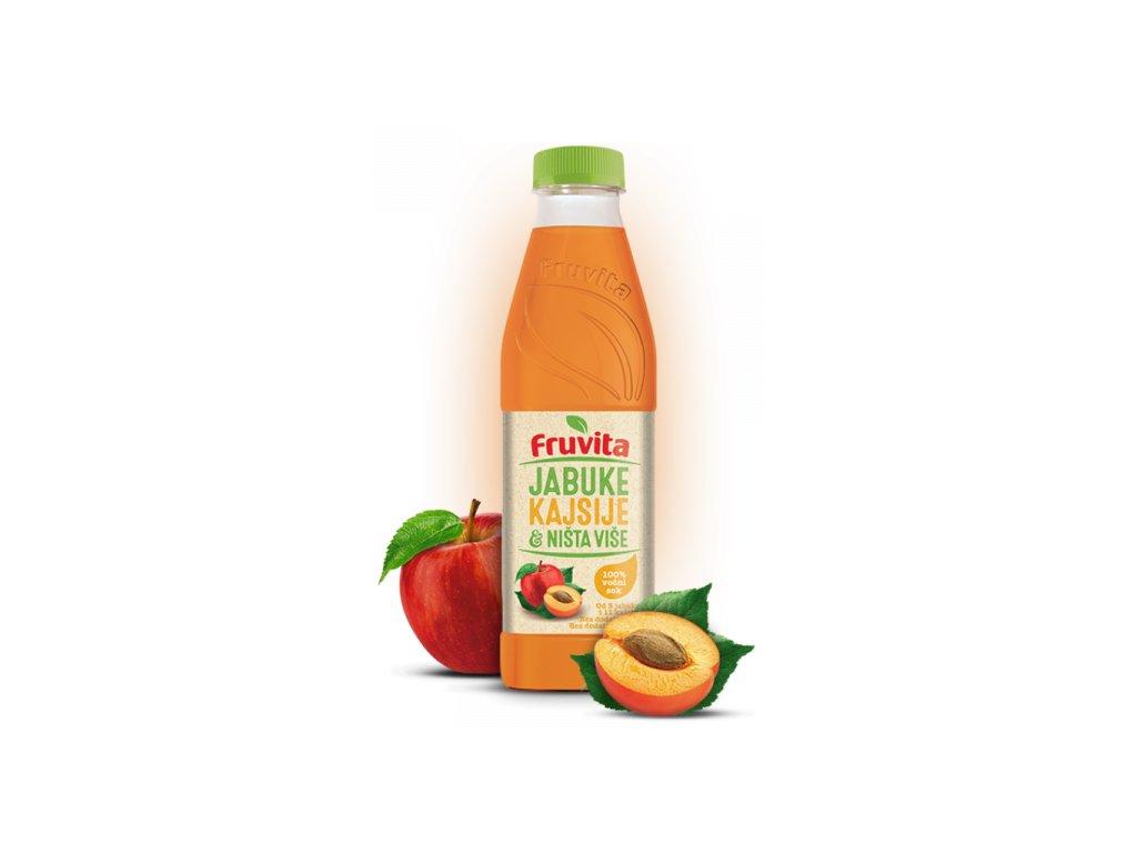 Fruvita jablko marhula 750 ml