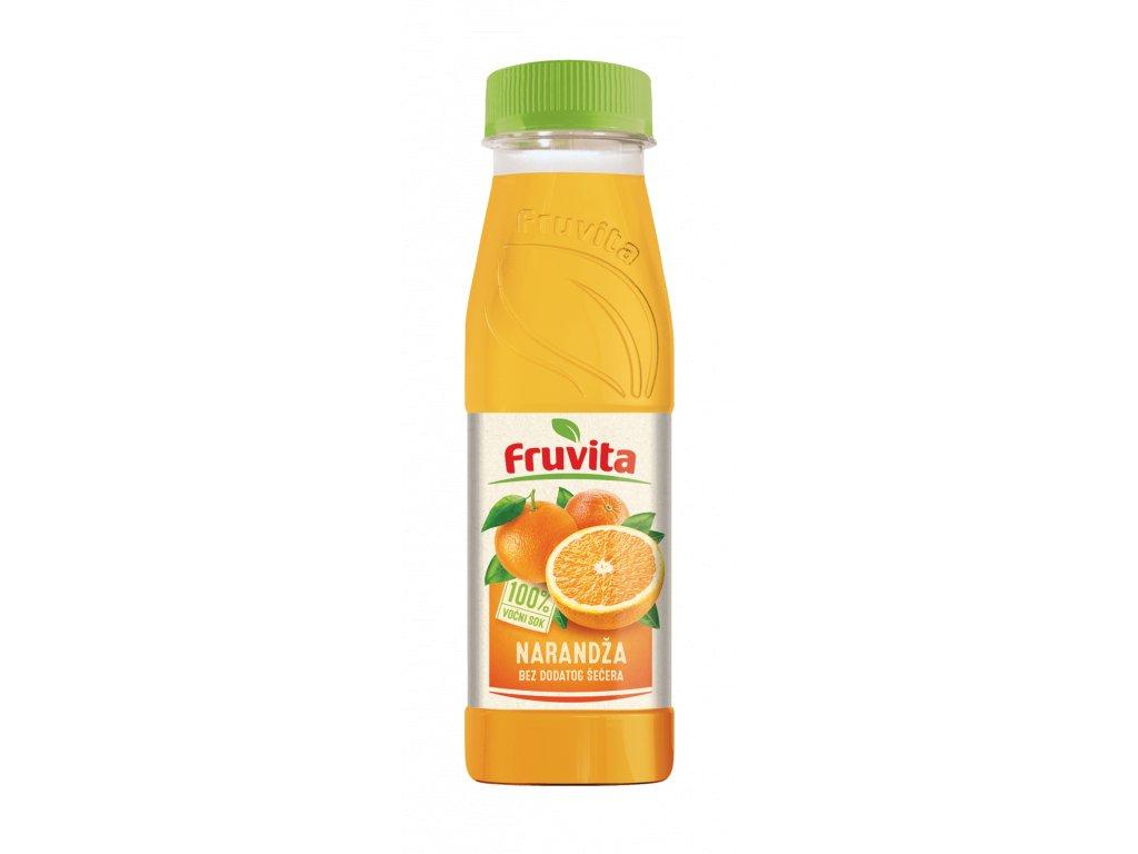 Fruvita pomaranč 330 ml