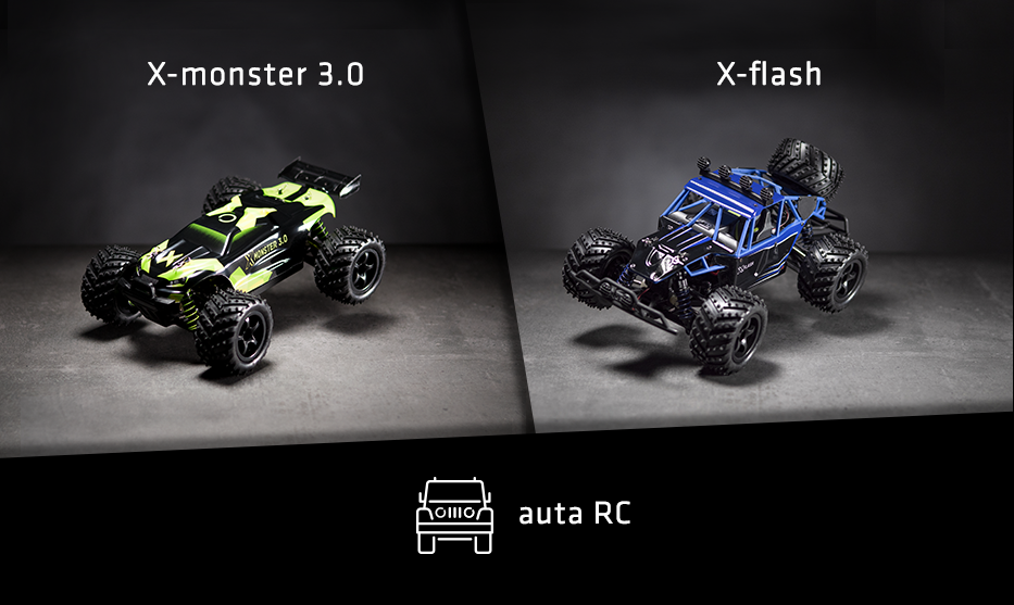 RC modely aut od Overmax