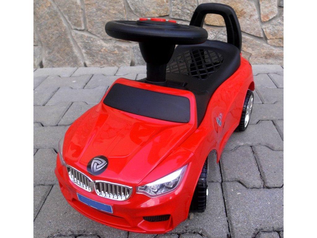 J6 odrážedlo autíčko červené