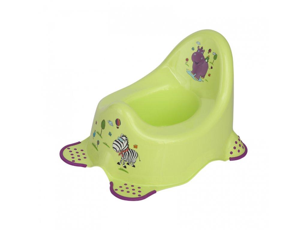 Dětský nočník Lorelli ANATOMIC HIPPO GREEN
