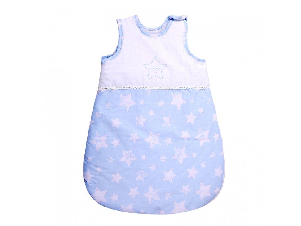 Spací pytel zimě 0-6M LITTLE STARS BLUE