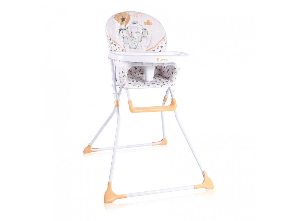 Jídelní židlička Lorelli COOKIE BEIGE ELEPHANT