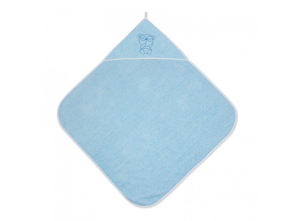 Dětská osuška s kapucí Lorelli 80x80 cm BLUE
