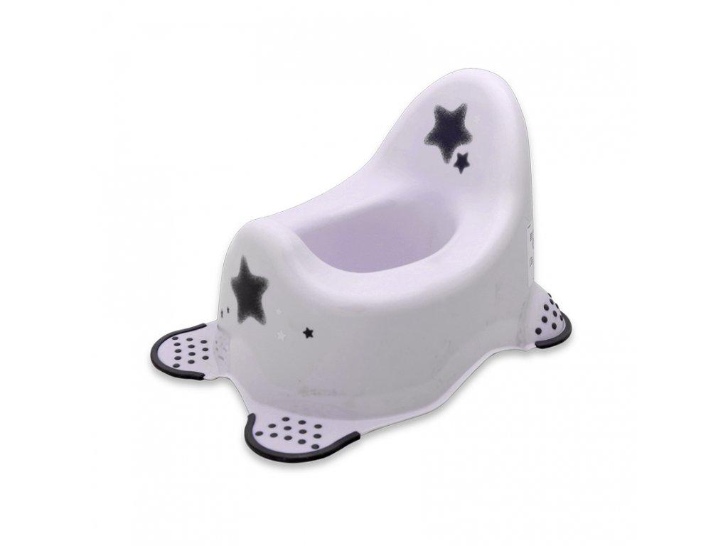 Dětský nočník Lorelli ANATOMIC STARS WHITE