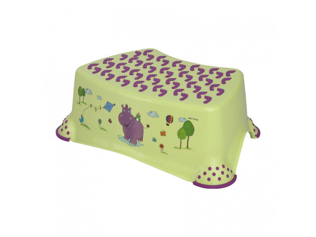 Dětské stupátko Lorelli HIPPO GREEN