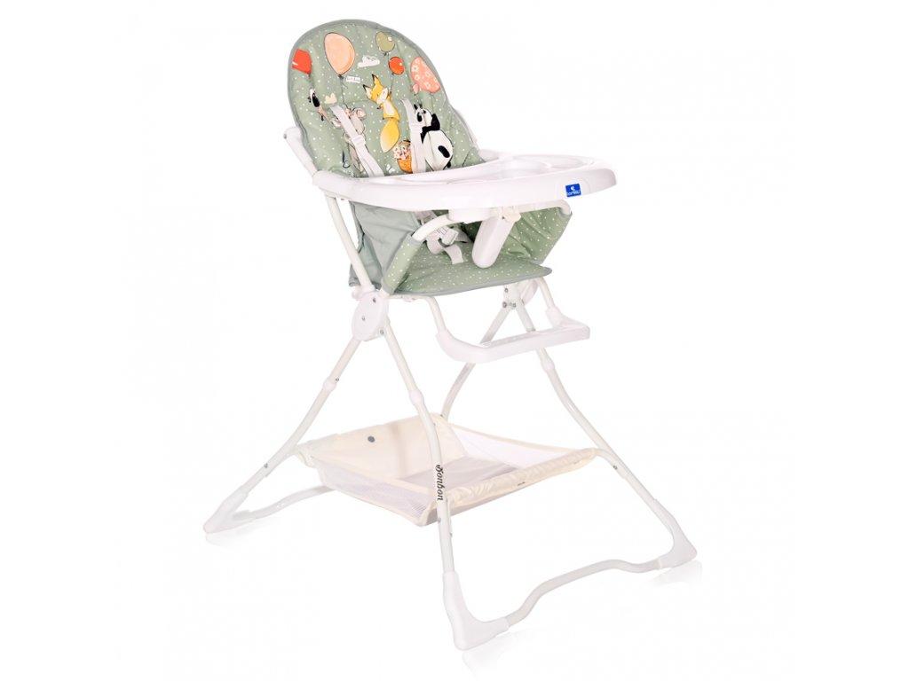 Jídelní židlička Lorelli BONBON GREEN BIRTHDAY
