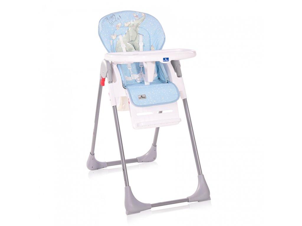 Jídelní židlička Lorelli CRYSPI TENDER BLUE FUN