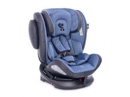 Autosedačka Lorelli AVIATOR ISOFIX 0-36 KG BLACK&BLUE