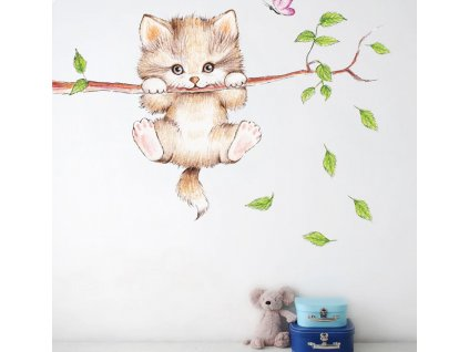 Screenshot 2020 09 14 CZK33 97 20% OFF cute cat butterfly tree branch wall stickers for kids rooms home decoration cartoon [...]