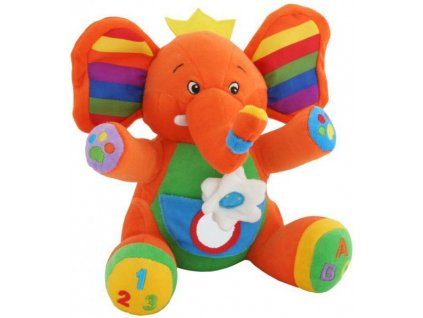 Dětská hračka Lorelli SLON S KAPSKOU