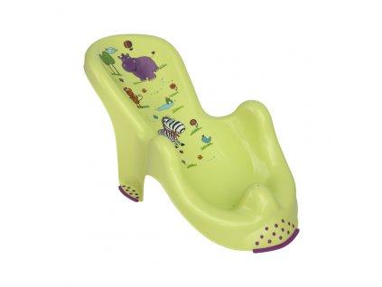 Lehátko do vany Lorelli HIPPO GREEN