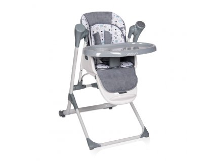 2v1 Jídelní židlička-houpačka Lorelli VENTURA GREY