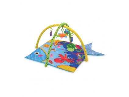 Hrací deka s hrazdou Lorelli OCEAN 115X115
