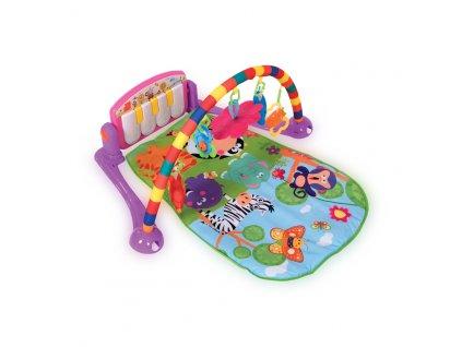 Hrací deka s hrazdou Lorelli PIANO GYM 77X52 PINK