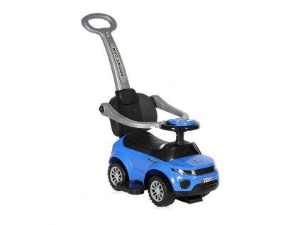 Odrážedlo auto Lorelli s vodicí tyčí BLUE