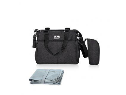 Přebalovací taška Lorelli MAYA BLACK
