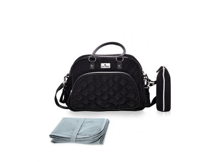 Přebalovací taška Lorelli VIOLA BLACK