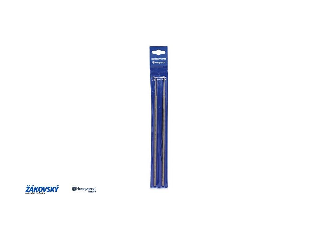 Pilník guľatý 5,5 mm - 12 ks v balení