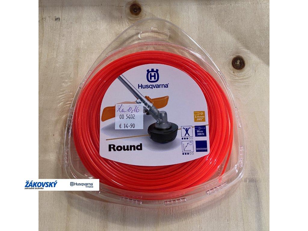 Vyžínacia struna okrúhla Round 2,4mm - 90m