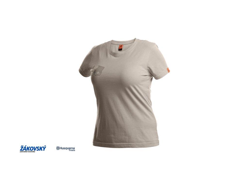 Tričko X-Cut s krátkym rukávom, dámske, šedé