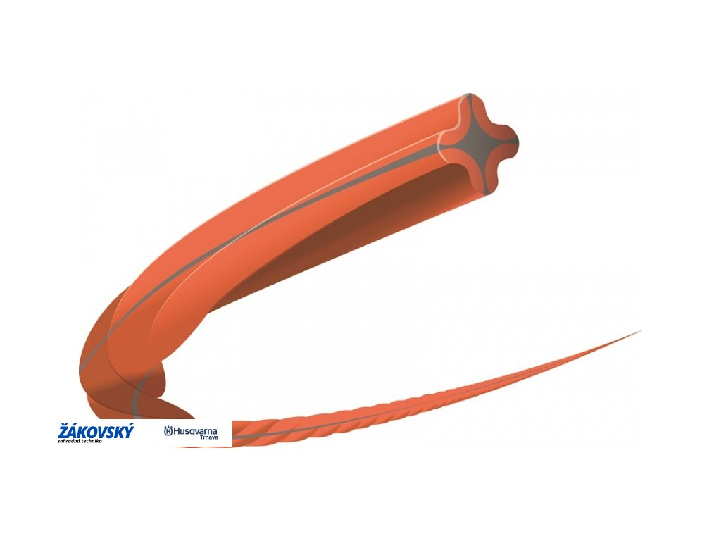 Vyžínacie lanko Whisper Twist 3,0mm - 9m