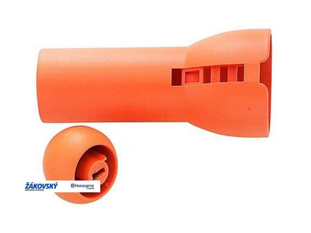 Objímka a oranžová koncová guľôčka k nožniciam 115560 FISKARS