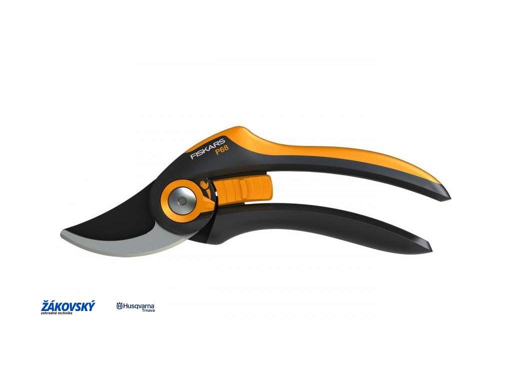 Dvojčepeľové záhradné nožnice FISKARS SmartFit P68