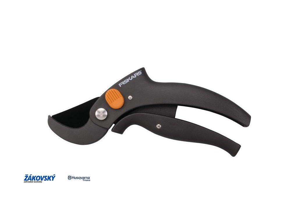 Nožnice záhradné PowerLever s pákovým prevodom jednočepeľové FISKARS