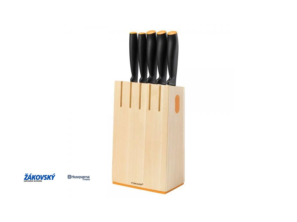 Blok s 5 nožmi FISKARS