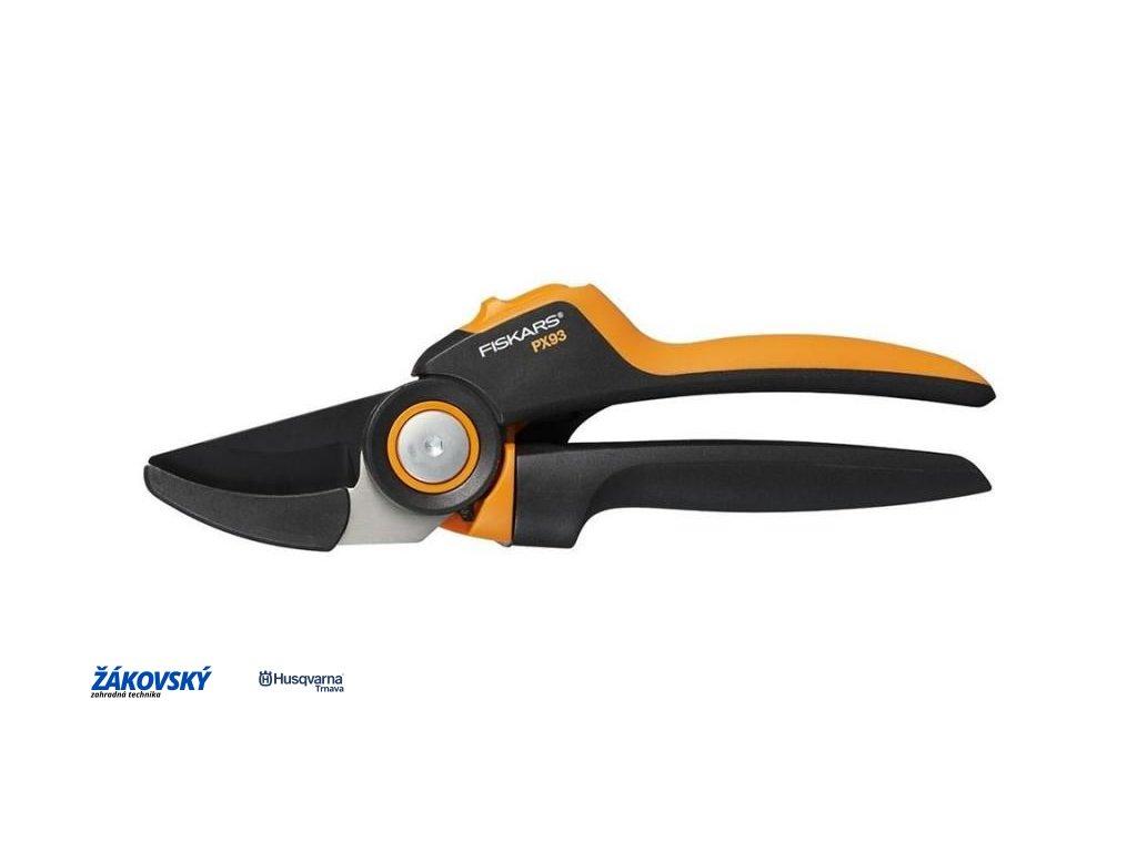 Záhradné prevodové nožnice FISKARS PowerGear PX93 (L)