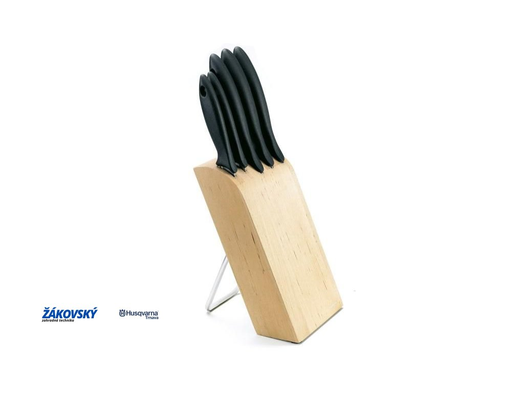 Blok s 5 nožmi FISKARS Essential