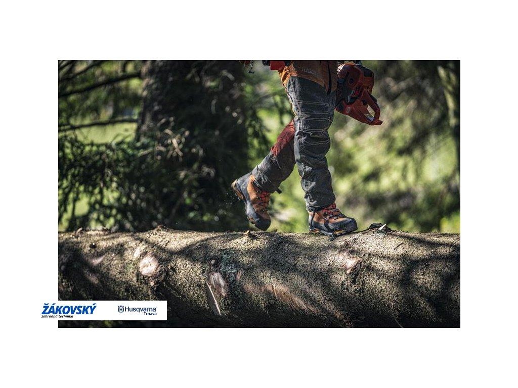 Ochranná kožená obuv Technical s ochranou proti prerezaniu 24 m/s